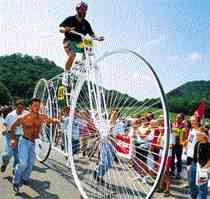the largest bicycle (JPG, 7 kB)